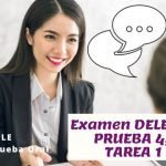 Dele B2, Examen Oral, Tarea 1