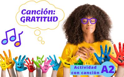 Canción: Gratitud, de Fonseca (A2)