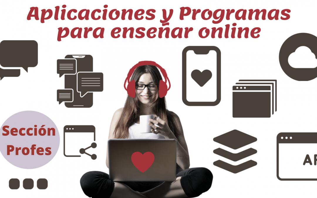 Programas para enseñar online