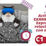 Expresiones con dormir (C1)