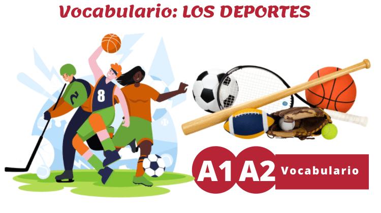 Vocabulario de los deportes (A1/A2)
