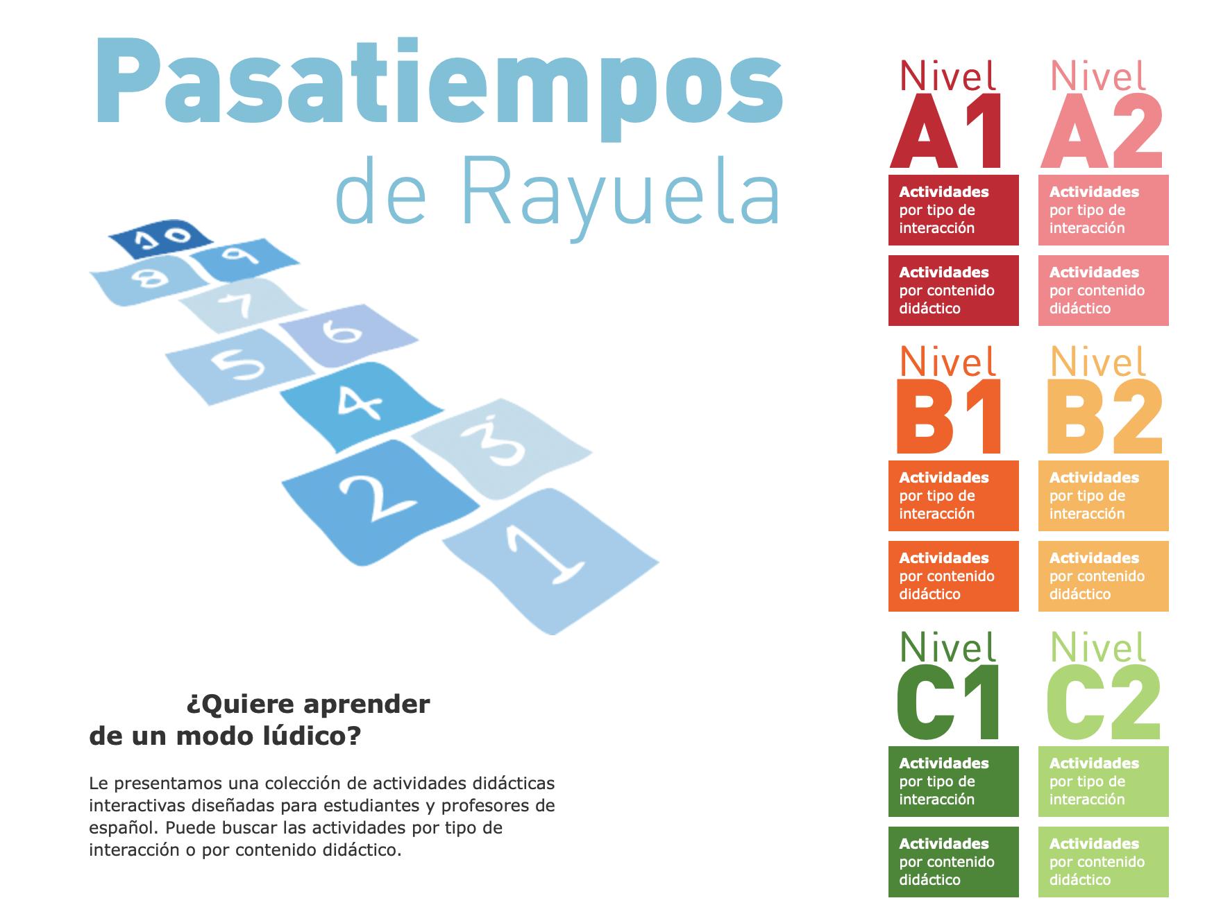 Juegos para la clase de español