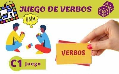 Juego de los Verbos (C1)